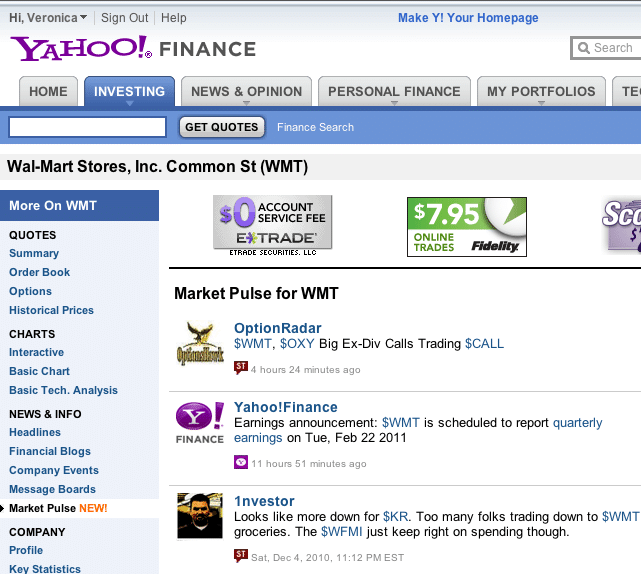 2000'lerde Yahoo Dizini